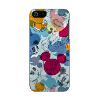 Mickey & Friends | Mouse Head Sketch Pattern Incipio Feather® Shine iPhone 5 Case