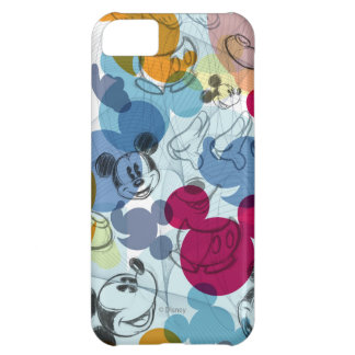 Mickey & Friends | Mouse Head Sketch Pattern iPhone 5C Cover