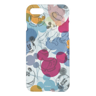 Mickey & Friends | Mouse Head Sketch Pattern iPhone 8/7 Case