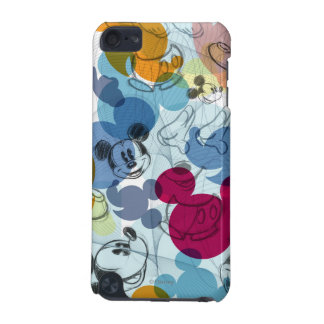 Mickey & Friends | Mouse Head Sketch Pattern iPod Touch 5G Cover