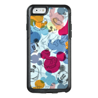 Mickey & Friends | Mouse Head Sketch Pattern OtterBox iPhone 6/6s Case