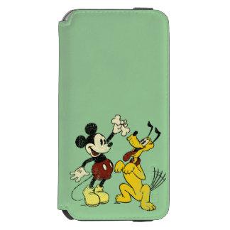 Mickey & Friends   Vintage Mickey & Pluto Incipio Watson™ iPhone 6 Wallet Case