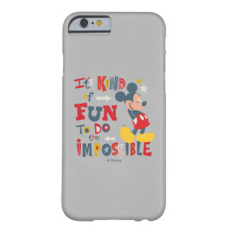 Mickey | Fun To Do The Impossible 2 Barely There iPhone 6 Case