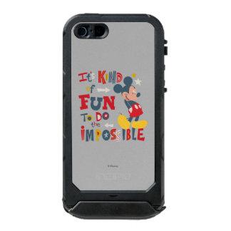 Mickey | Fun To Do The Impossible 2 Incipio ATLAS ID™ iPhone 5 Case