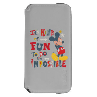 Mickey | Fun To Do The Impossible 2 Incipio Watson™ iPhone 6 Wallet Case