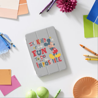 Mickey   Fun To Do The Impossible 2 iPad Mini Cover