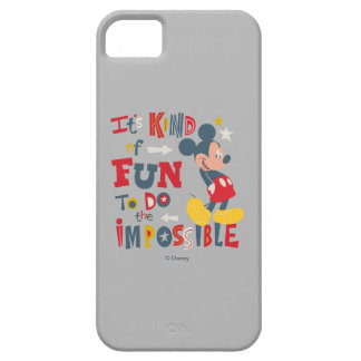Mickey | Fun To Do The Impossible 2 iPhone 5 Case