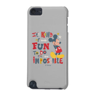 Mickey   Fun To Do The Impossible 2 iPod Touch 5G Case