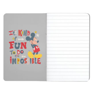 Mickey | Fun To Do The Impossible 2 Journals