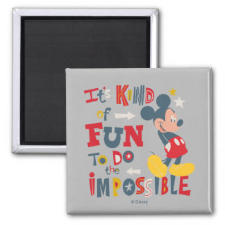 Mickey | Fun To Do The Impossible 2 Magnet