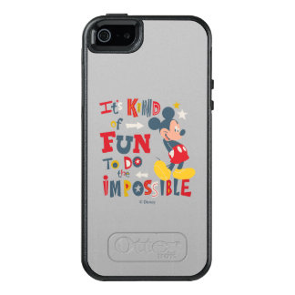 Mickey | Fun To Do The Impossible 2 OtterBox iPhone 5/5s/SE Case
