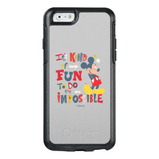 Mickey | Fun To Do The Impossible 2 OtterBox iPhone 6/6s Case