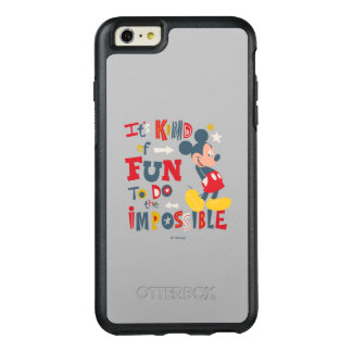 Mickey | Fun To Do The Impossible 2 OtterBox iPhone 6/6s Plus Case