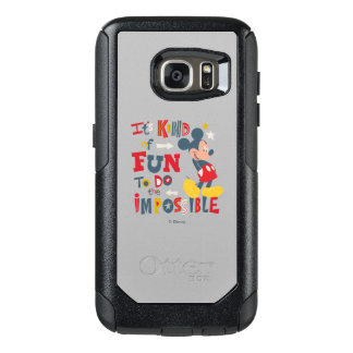 Mickey | Fun To Do The Impossible 2 OtterBox Samsung Galaxy S7 Case