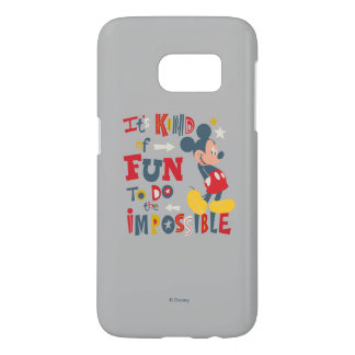Mickey | Fun To Do The Impossible 2 Samsung Galaxy S7 Case