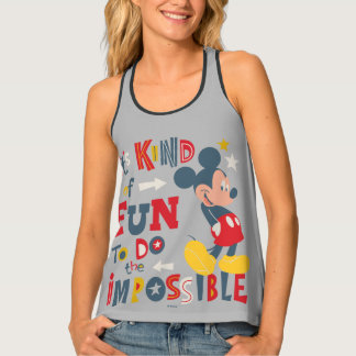 Mickey | Fun To Do The Impossible 2 Tank Top