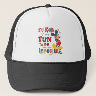Mickey | Fun To Do The Impossible 2 Trucker Hat
