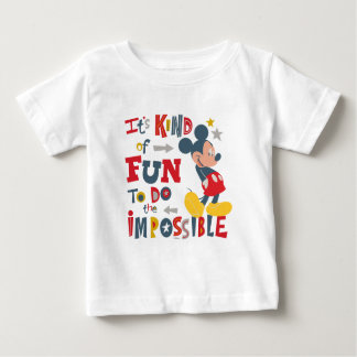Mickey | Fun To Do The Impossible Baby T-Shirt