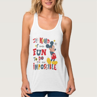 Mickey | Fun To Do The Impossible Tank Top