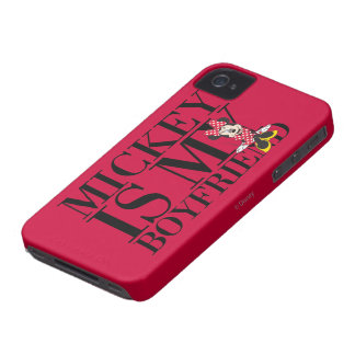 Mickey is My Boyfriend Case-Mate iPhone 4 Cases
