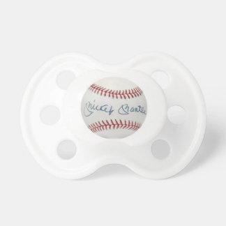 Mickey Mantle Baseball Pacifier