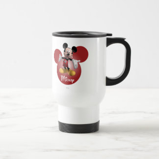 Mickey Mickey Clubhouse | Head Icon 15 Oz Stainless Steel Travel Mug