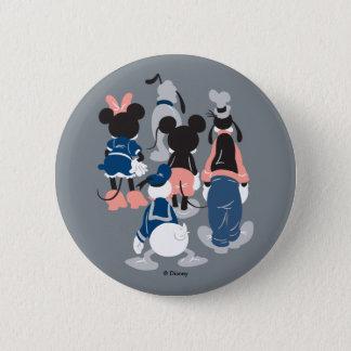 Mickey | Mickey Friend Turns 2 Inch Round Button