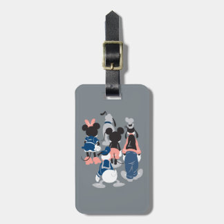 Mickey | Mickey Friend Turns Luggage Tag