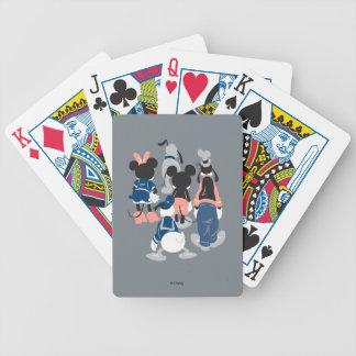 Mickey | Mickey Friend Turns Poker Deck