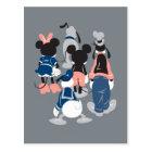 Mickey | Mickey Friend Turns Postcard