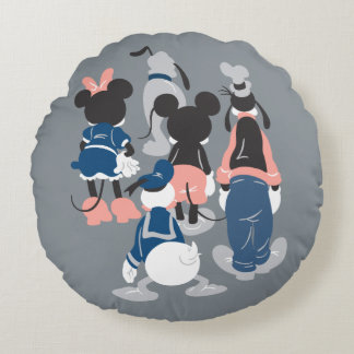 Mickey | Mickey Friend Turns Round Pillow