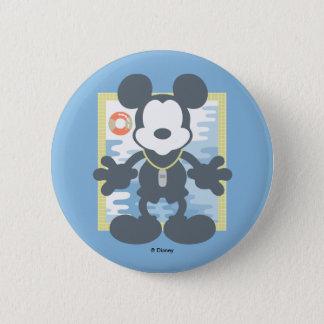 Mickey | Mickey Life Guard 2 Inch Round Button