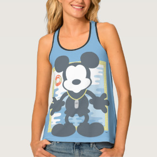 Mickey | Mickey Life Guard Tank Top