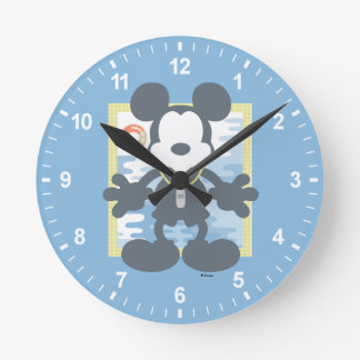 Mickey   Mickey Life Guard Wallclocks