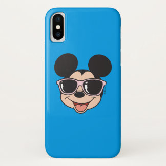 Mickey | Mickey Smiling Sunglasses Case-Mate iPhone Case