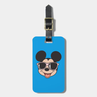 Mickey | Mickey Smiling Sunglasses Luggage Tag