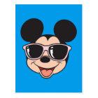Mickey | Mickey Smiling Sunglasses Postcard