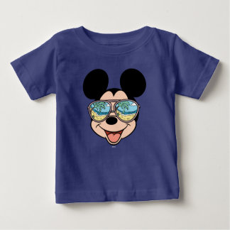 Mickey | Mickey Tropical Sunglasses 3 Baby T-Shirt