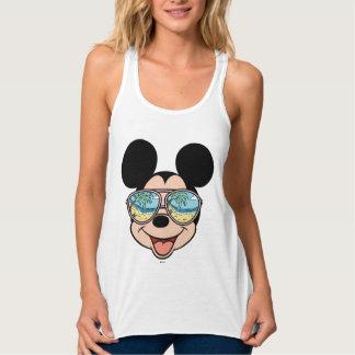 Mickey | Mickey Tropical Sunglasses 3 Tank Top