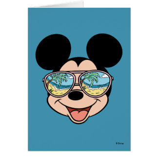 Mickey | Mickey Tropical Sunglasses Card