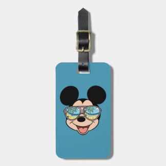 Mickey | Mickey Tropical Sunglasses Luggage Tag