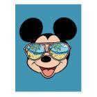 Mickey | Mickey Tropical Sunglasses Postcard