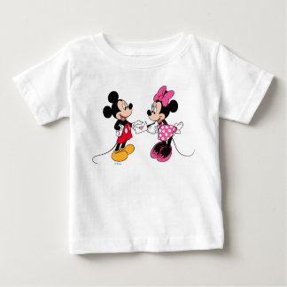 Mickey & Minnie | Be Mine 2 Baby T-Shirt