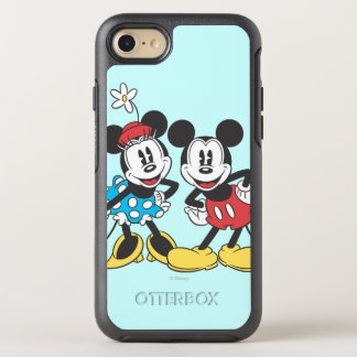 Mickey & Minnie | Classic Pair OtterBox Symmetry iPhone 7 Case
