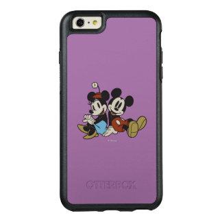 Mickey & Minnie | Classic Pair Sitting OtterBox iPhone 6/6s Plus Case
