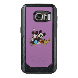 Mickey & Minnie | Classic Pair Sitting OtterBox Samsung Galaxy S7 Case