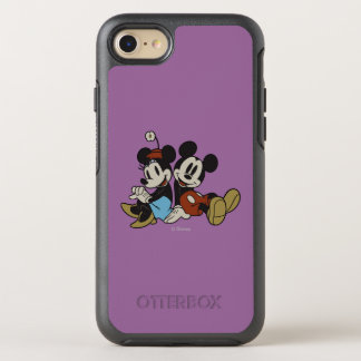 Mickey & Minnie | Classic Pair Sitting OtterBox Symmetry iPhone 7 Case