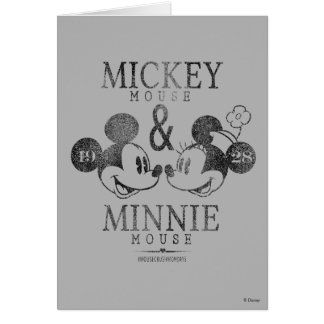 Mickey & Minnie | Est. 1928 Card