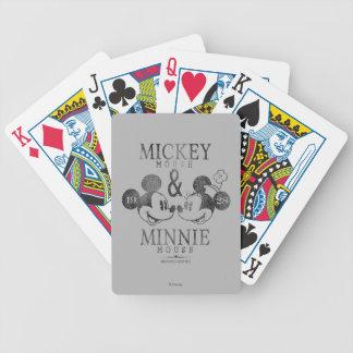 Mickey & Minnie | Est. 1928 Poker Deck