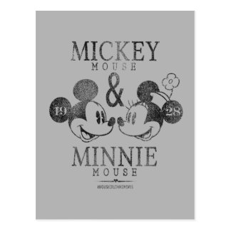 Mickey & Minnie | Est. 1928 Postcard